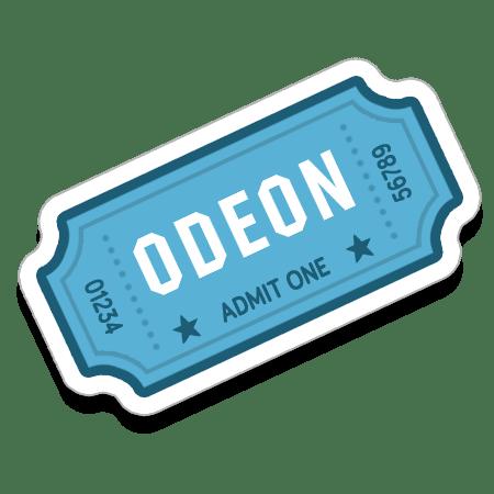 One Cinema Ticket at Odeon Cinemas